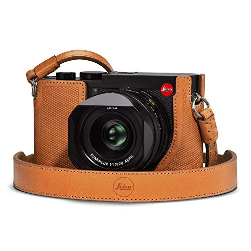 Leica Leather Protector for Q2 Digital Camera - Brown