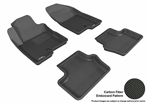 (3D MAXpider Complete Set Custom Fit All-Weather Floor Mat for Select Jeep Compass Models - Kagu Rubber)