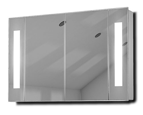 led bathroom cabinet kriya demister led bathroom cabinet with demister sensor 22563