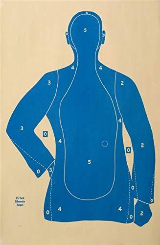 (B-21E Target, 21 Yard Target, Shooting Paper Targets, 22.5