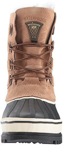 Skechers USA Men's Revine Hopkin Snow 72050 BlackKhaki