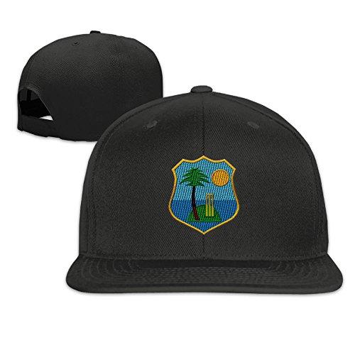 Embroidery Men's Trucker Cap Adjustable Snapback Cap - West Indies Cricket - Indie Snapbacks