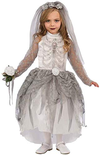 Forum Novelties Skeleton Bride Costume, Medium