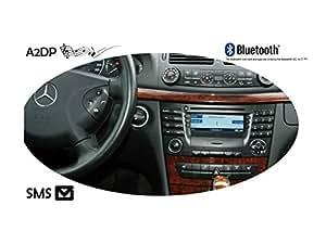 """FISCON Bluetooth Manos-Libres """"Pro"""" para Mercedes (MOST) con Audio 20, Adio 50 APS, Comand NTG 1, Comand NTG 2"""