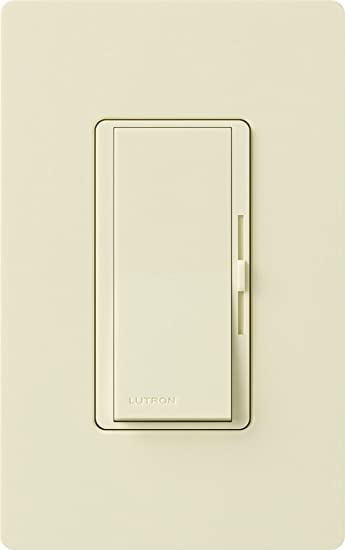 Lutron DVCL-153P-AL Diva Dimmable CFL/LED Dimmer, Almond - Wall ...