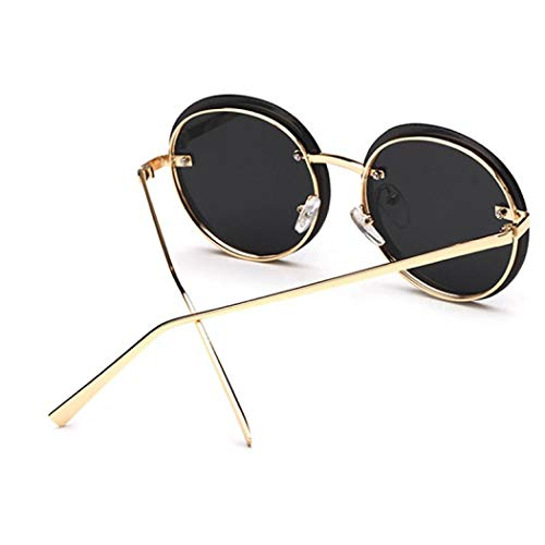 métal inspirées de Femmes Rond en rétro 5 polarisé Sabarry pour avec John et Taille 7 Soleil Lennon Unique Hommes Cadre Vintage Lunettes par 5waqO67aX4