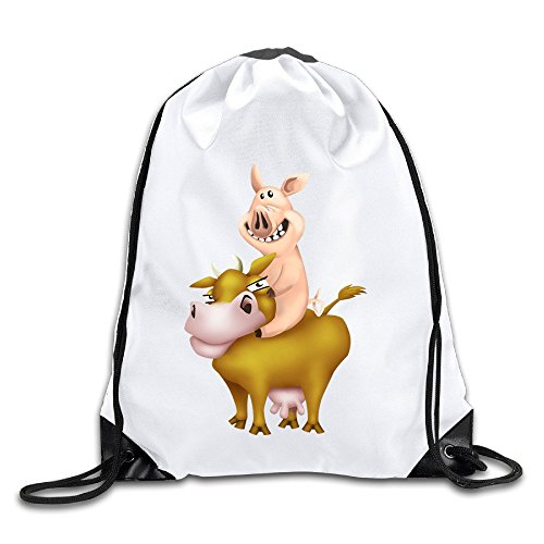 Coreco Funny Hay Day Drawstring Backpack Sack - Size Oakley Guide