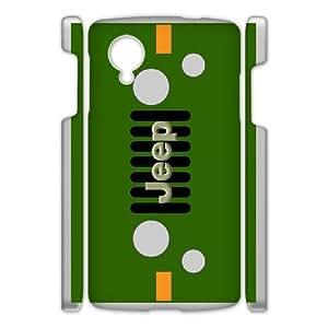 Google Nexus 5 Phone Case for Classic theme Jeep Logo pattern design GCTJPLG778387