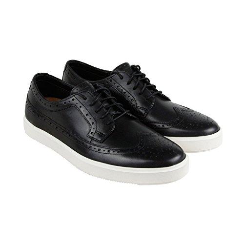 Clarks Calderon Limit Mens Black Leather Casual Dress Lace Up Oxfords Shoes 10