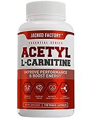 Acetyl L Carnitine (ALCAR) Supplement - Premium L-Carnitine Supplement for Energy, Focus, Improved Body Composition - 120 Veggie Pills
