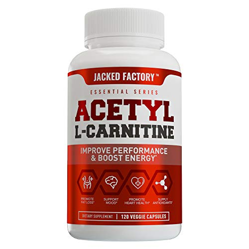 Acetyl L Carnitine (ALCAR) Supplement - Premium L-Carnitine Supplement for Energy, Focus, Improved Body Composition - 120 Veggie Pills (Best Acetyl L Carnitine Brand)