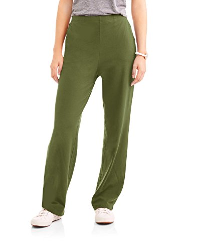 White Stag Women's Knit Pull-On Pants Available In Regular and Petite (Small, Sea Turtle) (Pull On Pants Knit)
