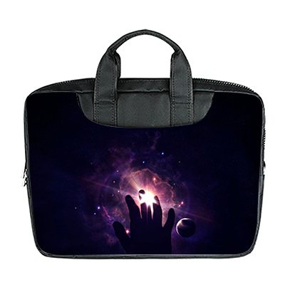 DongMen wasserdichte Gewebe Schulter Messenger Laptop Tasche f¨¹r 11 Zoll Macbook Air / Notebbook Custom Design C DXYqOJuyWt