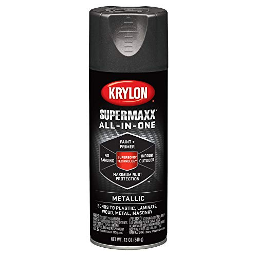 (Krylon K08994000 SUPERMAXX All-In-One Spray Paint, Oil Rubbed Bronze Metallic, 12 Ounce)