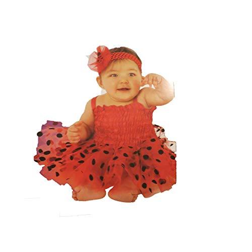 Walmart Ladybug Infant Costume Baby 6-12 -