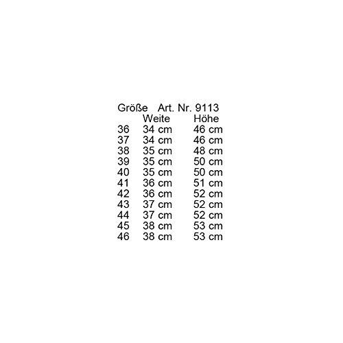 Stivali Sevilla 40LG e (L 35cm; H 50cm) Nero