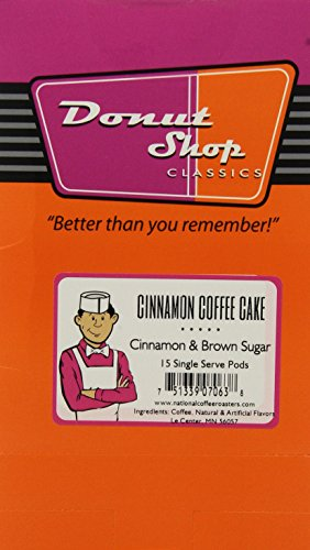 Donut Blow the whistle on buy Cinnamon Coffee Cake, Medium, 15-Count (Pack of 3)