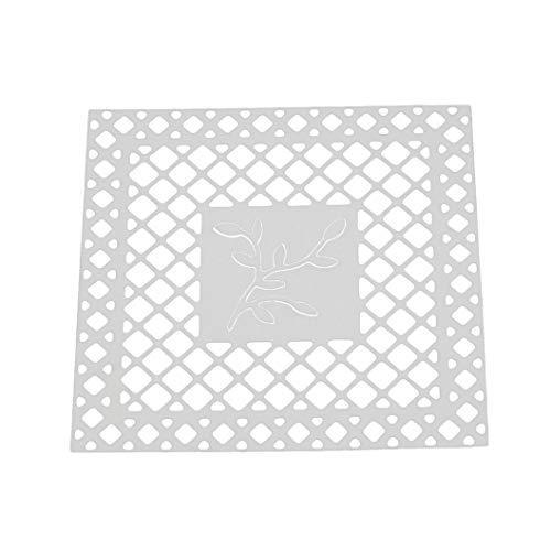 Tuu Plantillas de Troquelado Hechas a Mano para álbumes de Recortes, Tarjetas de Papel (80 x 80 mm): Amazon.es: Jardín