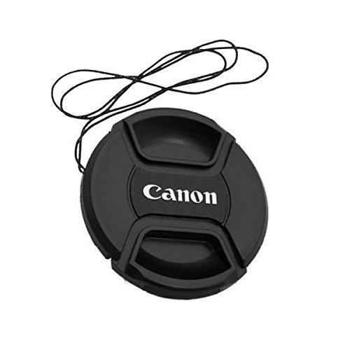 72mm Snap-on Front Lens Cap for Canon (Black)- - 8