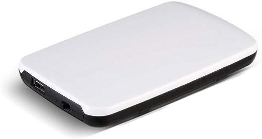 外付けハードディスク HCGS 2.5インチオリジナルHDD外付けハードドライブ160GB / 250GB / 320GB / 500GBポータブルディスクストレージUSB2.0電源スイッチの販売750GBホワイト