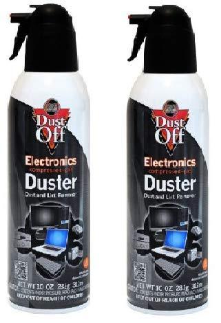 Dust-Off 使い捨て圧縮ガスダスター 10オンス缶 2パック (20オンス)   B07NWPMNJM