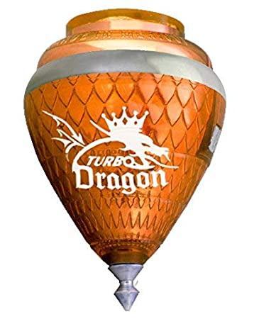 Worldwide Plastigamar - Peonza Turbo dragón con aro: Amazon.es: Juguetes y juegos