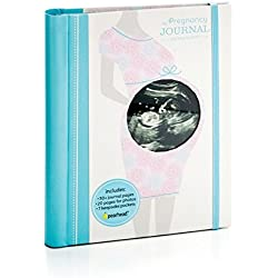 Pearhead Pregnancy Journal, Baby Shower Must Have, Capture Every Moment of Your Pregnancy, Gift for Mom to Be