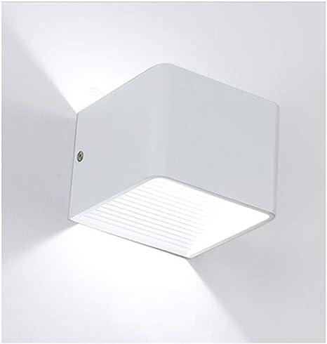 Aplique de Pared Rectangular LED, Moderna lámpara de Pared hacia Arriba y hacia Abajo para Accesorios