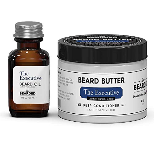 Executive Kit - Beard Oil and Beard Butter Kit - The Executive