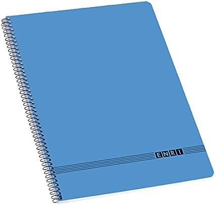 Enri Oficina - Pack de 10 cuadernos espiral tapa blanda, 4º ...
