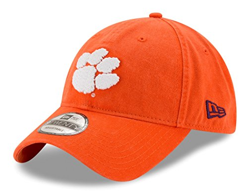New Era Men's Clemson Tigers Core Classic Orange One Size Fits All