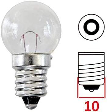 LAMPADINA LAMPADA 6V 2.4W E10 LUCI BICI FANALE AUTO MOTO CYCLO VINTAGE UNIVERSAL