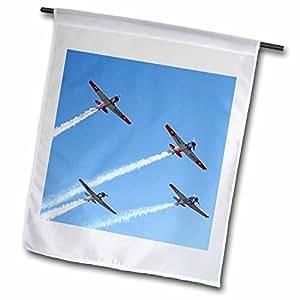 Danita Delimont - Vintage Airplanes - New Zealand, Warbirds Over Wanaka, Vintage Airplanes-AU02 DWA5988 - David Wall - 12 x 18 inch Garden Flag (fl_76001_1)
