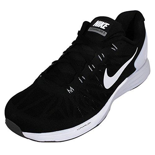 Nike - Lunarglide 6, Sneakers da uomo, black/white-pro platinium-cool grey, 40,5