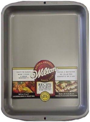 Wilton Lasagna/Roast Pan 14-1/2'' X 11'' Non Stick Steel by Wilton (Image #1)