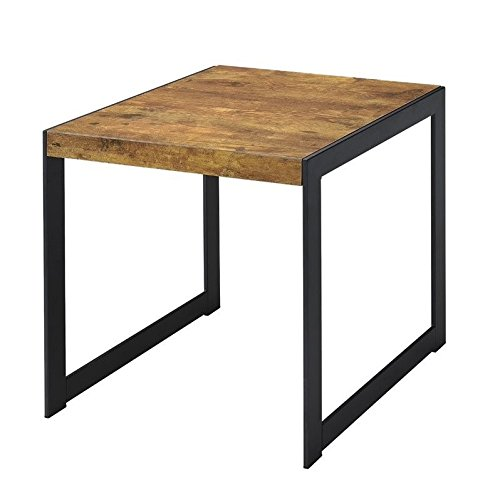 Coaster Home Furnishings End Table with Metal Base