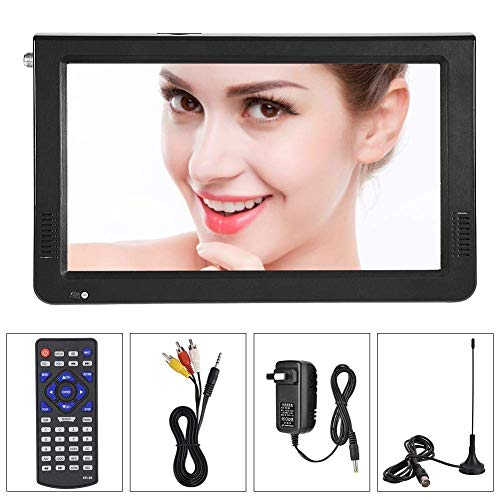 9-inch-Portable-Digital-Television-Small-169-ATSC-1080P-HD-Video-Player-TFT-LED-TV-Built-in-Rechargeable-Battery-Support-USB-and-TF-Card-for-Car-Caravan-Camping-Outdoor-or-Kitchen