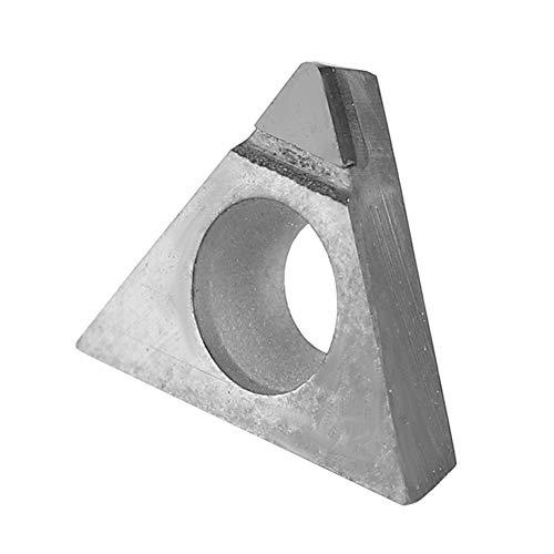 PCD-Hartmetalleinsatz, 600-1100 MPa Professioneller PCD-Hartmetall-Wendeeinsatz Diamantmesser-CNC-Drehmaschinenwerkzeug zur Verarbeitung von Kupfer aus Zinkaluminiumlegierung(202)