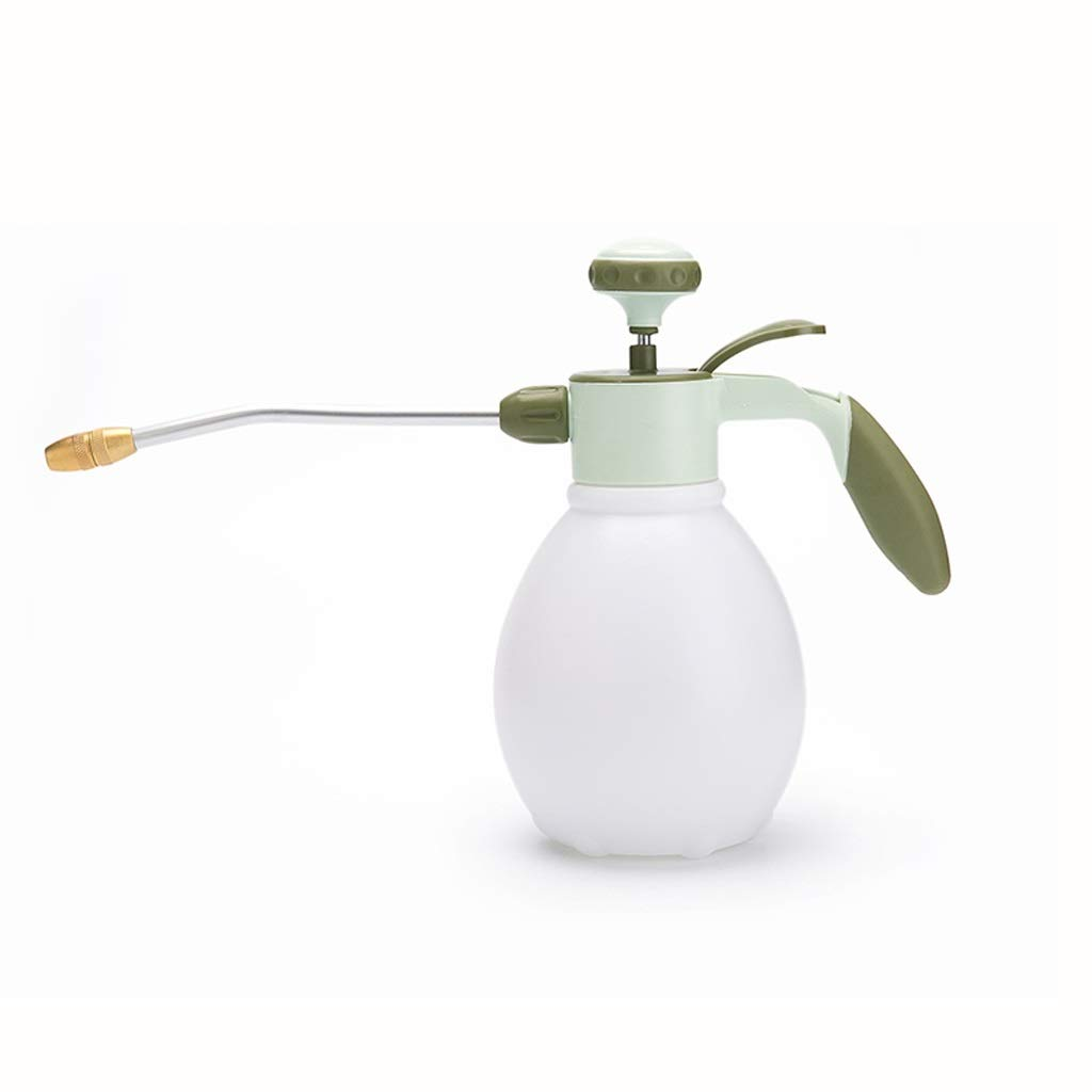 MUTANG Watering Can Sprayer Pressure Type 1.2L High Pressure Long Mouth Copper Nozzle Gardening Sprinkler Watering Flower Spray Bottle