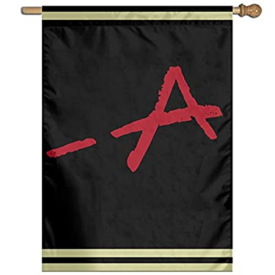 COREI779 A Pretty Little Liars Logo Home Garden Flag Banner House Flag Set For All Festival Christmas Day Home Garden Decoration