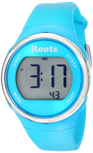 Roots Women's 1R-AT405AQ1A Cayley Digital Display Quartz Blue Watch (Roots Canada Watch)