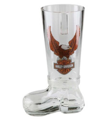 Harley-Davidson Bar & Shield Eagle German Glass Boot HDL-18727