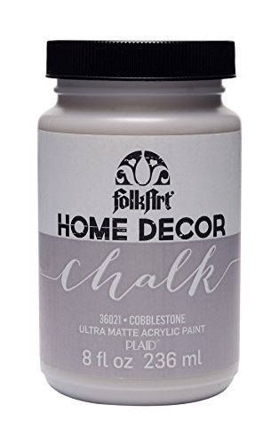 FolkArt 36021 Home Decor Chalk Furniture & Craft Paint in Assorted Colors, 8 ounce, ()