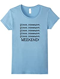 Fun School by Top T-Shirts & Gifts: School Homework Weekend