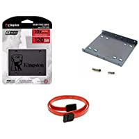 Kit SSD Kingston 120GB A400 SATA SA400S37/120G + Suporte Kingston P/Desktop + Cabo SATA