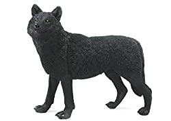 Safari Ltd. Wildlife Wonders: Black Wolf