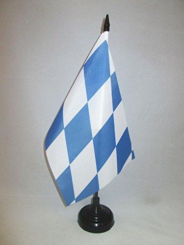 AZ FLAG Drapeau de Table Bavière 21x14cm