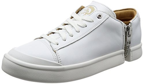 Diesel Sneaker Uomo S-Nentish Low Leather White Bianco