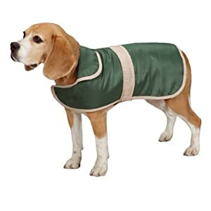 """Casual Canine Barn Coat for Dogs, 24"""" XL, Hunter Green"""