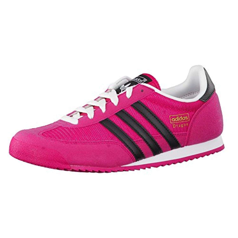 adidas Originals Unisex Kids' Dragon Low-Top Sneakers, rose (Bold Pink/Core Black/Ftwr White), 1 UK / 37 EU